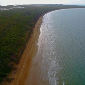 cape-palmerston-beach-access-aerial-coast