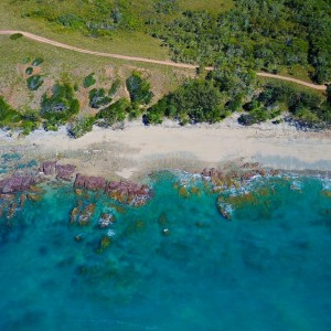 cape-palmerston-lookout-coast-aerial