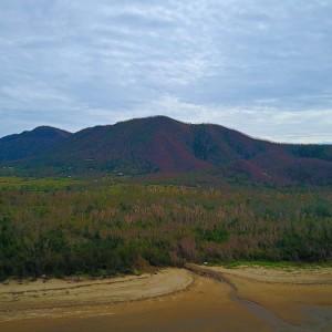conway-beach-mountains